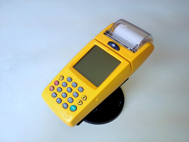 Verifone Nurit 8010 yellow